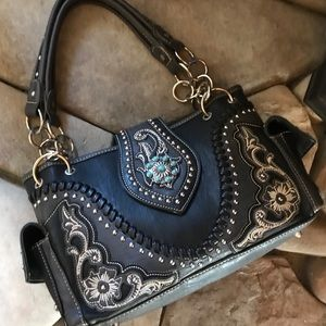Montana West Studded Quality Handbag
